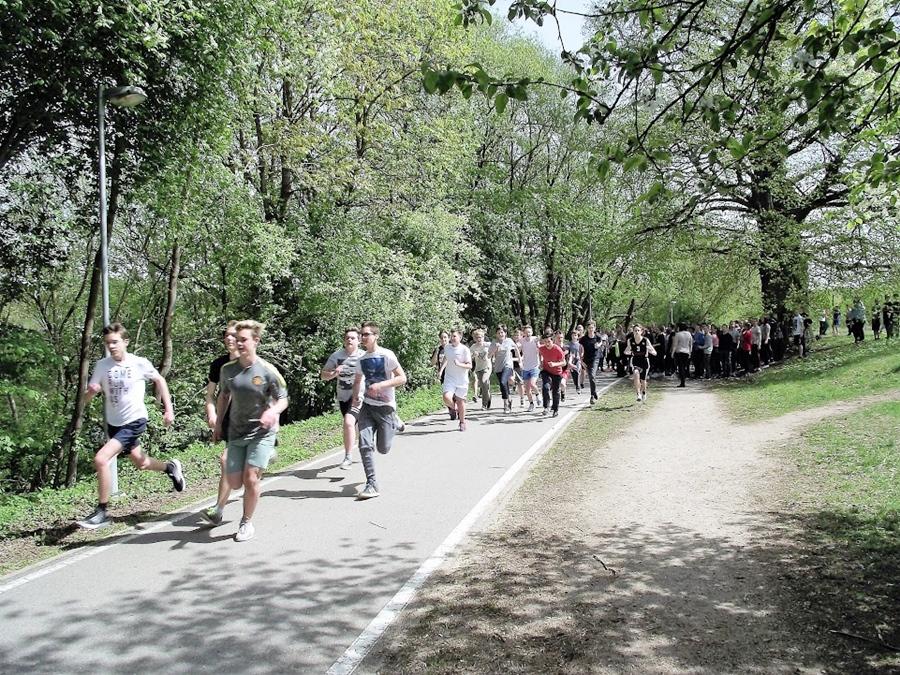 Olimpinės mylios bėgimas