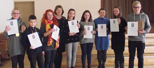 Meninės raiškos konkurso laureatai