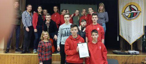 II vieta konkurse, skirtame Lietuvos kariuomenės dienai paminėti