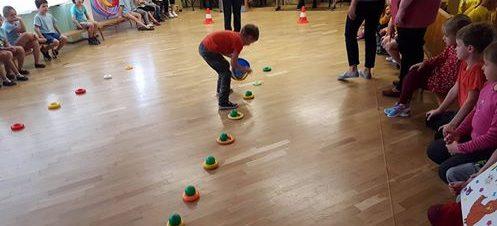 Priešmokyklinukai dalyvavo sporto šventėje