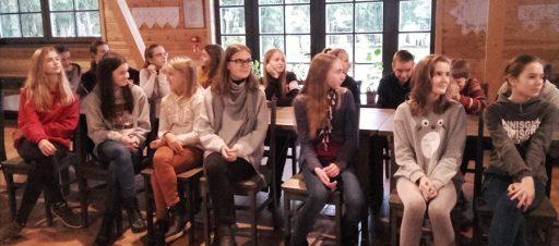 7d klasės išvyka į etnografinį muziejų