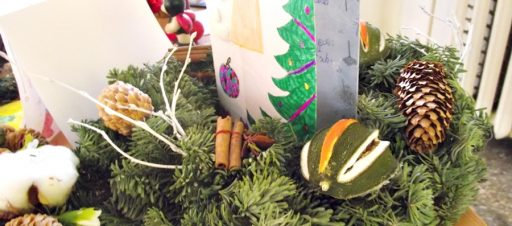 Kalėdinių puokščių ir sveikinimų paroda