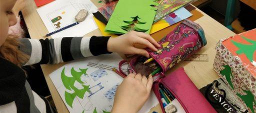 Prakartėlių kūryba dailės pamokose ir nauja pažintis