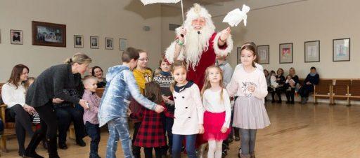 Progimnazijos darbuotojų vaikų kalėdinė šventė