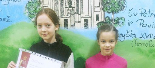 """Sveikiname Vilniaus miesto """"Diktanto meistro"""" konkurso nugalėtojas"""