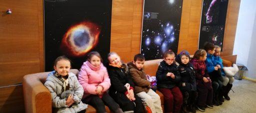 Priešmokyklinukai apsilankė Planetariume