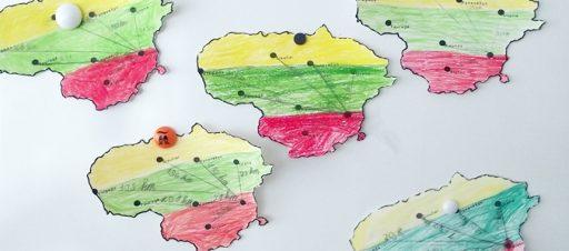 """Integruota veikla """"Lietuva – mano šalis"""" pradinėse klasėse"""