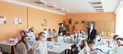 8b ir 8d pamokos Senvagės gimnazijoje