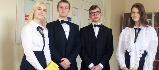 5d klasės mokinių atstovai dalyvavo Signatarų Šventėje