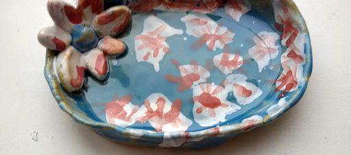 Mokinių darbai keramikos būrelyje