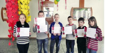 Mokyklinės 3-4 klasių anglų kalbos olimpiados laimėtojai