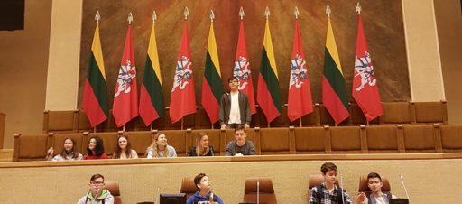 8a ekskursija į Seimą