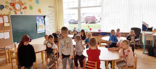 Skonių ir kvapų žaidimas darželyje