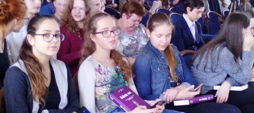Aštuntokų išvyka į Lietuvos mokslų akademiją