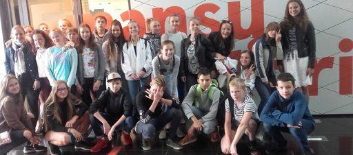 """7d klasės išvyka į """"Swedbank"""" finansų laboratoriją"""