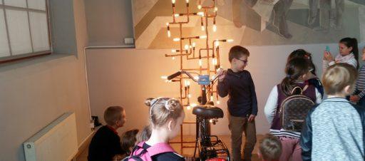 3b apsilankė Energetikos ir technikos muziejuje