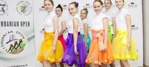 """Sveikiname šokio studiją """"Bolero"""""""