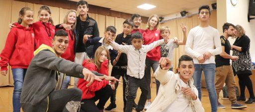 Romų tautos jaunimo vizitas