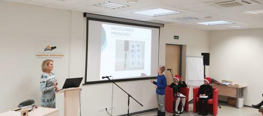 Trečiokas Mykolas konferencijoje pristatė savo kūrinį