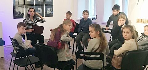 2a lankėsi Vilniaus grafikos meno centre