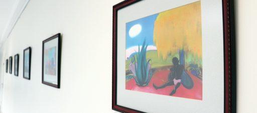 S. Rericho tapybos reprodukcijų paroda