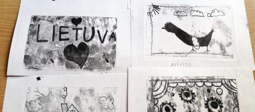 Monotipijos V. Kasiulio dailės muziejuje