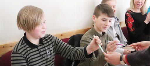 Mokyklinės gamtos mokslų olimpiados nugalėtojai