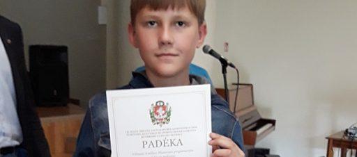 Sveikiname Vilniaus miesto biologijos olimpiados laimėtoją