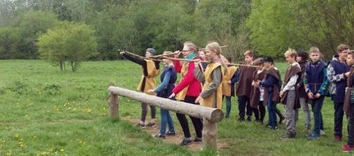 Išvyka į Vikingų kaimą