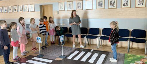 Saugaus eismo pamoka Susisiekimo ministerijoje