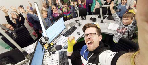 Vizitas radijo studijoje