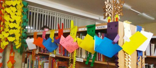 Minint mokyklų bibliotekų mėnesį