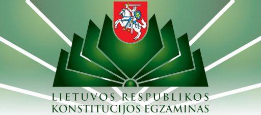 Konstitucijos egzamino I etapas