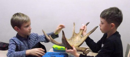 Gamtininkės Sondros paskaita apie žvėrelius