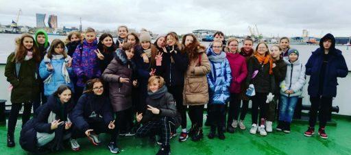 Mokinių savivaldos išvyka į Klaipėdos kraštą
