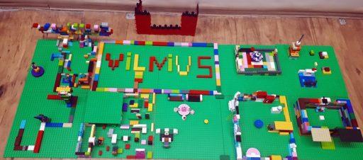 Ateities statiniai Vilniuje mažųjų akimis