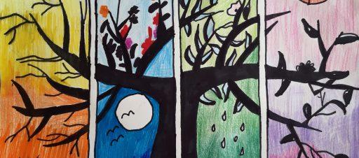 Pasaulio vaikų haiku konkurse dalyvauja 4a mokinių darbai