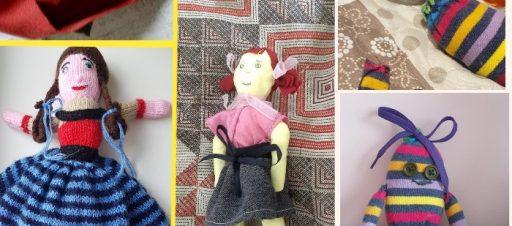 Mokinių kurtos lėlės