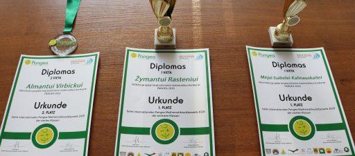 Pangea konkurso laureatai