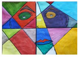 Pablo Pikaso įkvėpti portretai
