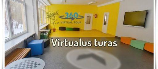 Kviečiame į virtualią ekskursiją po mūsų mokyklą!