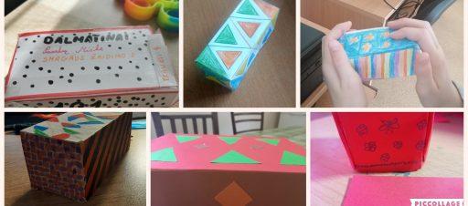 Integruota dailės ir matematikos pamoka