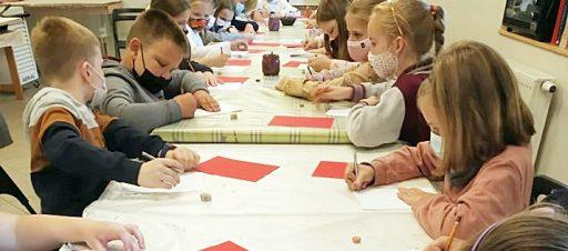 Edukacinė pamoka Vytauto Kasiulio dailės muziejuje