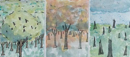 M. K. Čiurlionio kūrybos įkvėpti dailės darbai